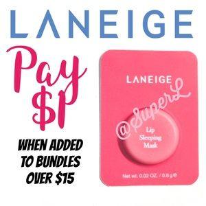 $1 Laneige Lip Sleeping Mask Balm Lipstick Berry